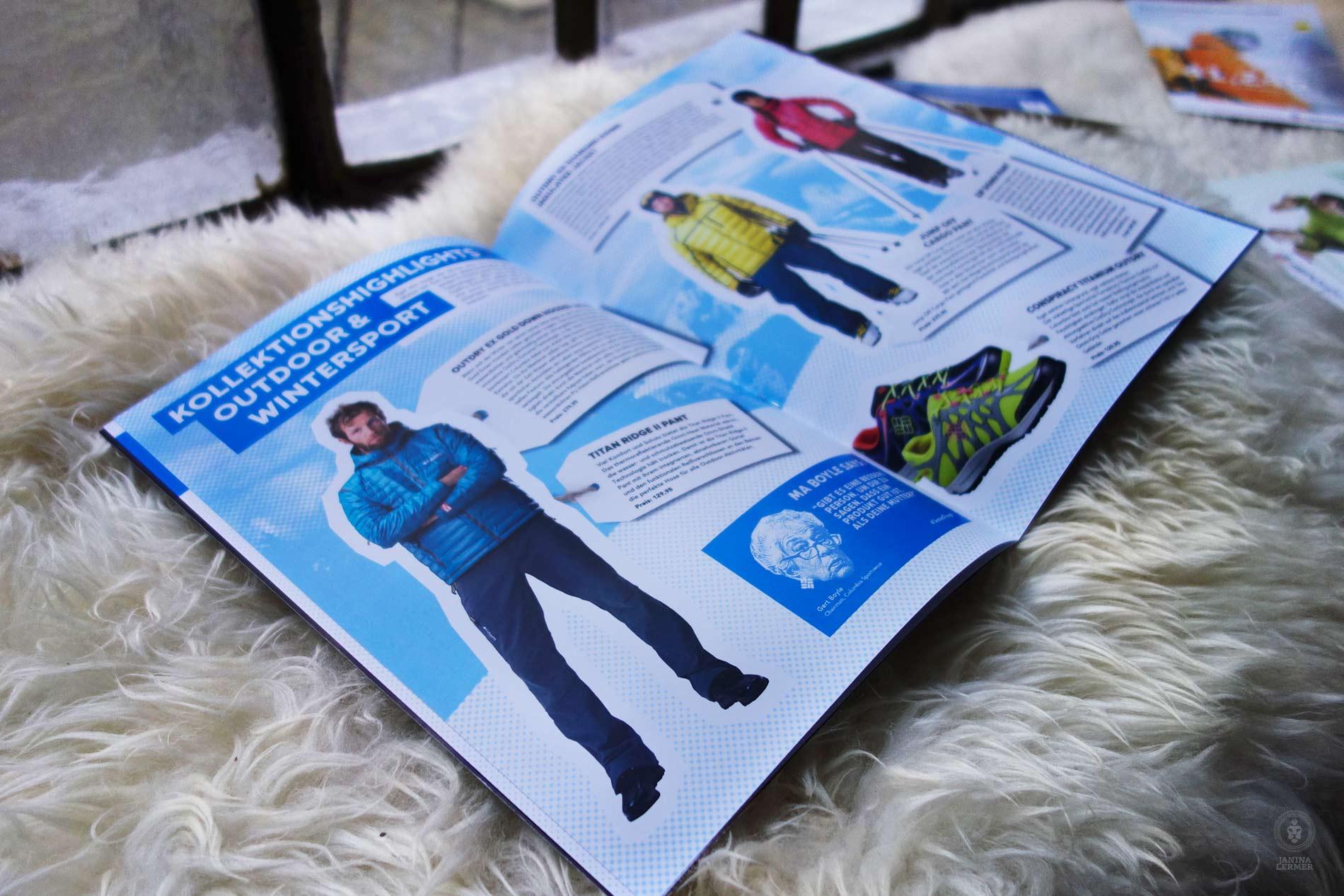 Janina-Lermer-Markenkommunikation-Brand-communication-Columbia-Presskit-Editorialdesing-Innenseiten-Produkte-Products-Winter-16