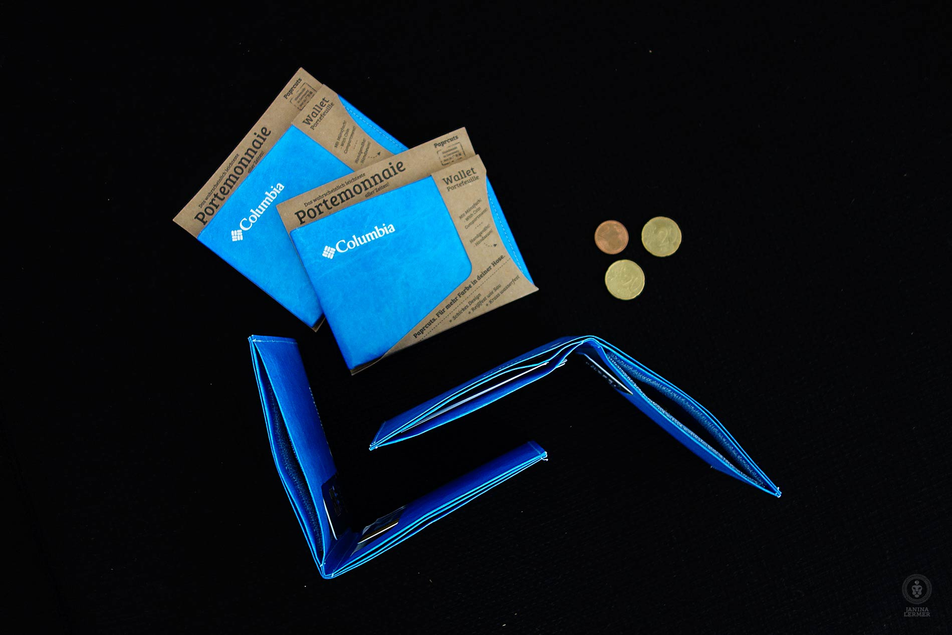 Janina-Lermer-Verpackung-Packaging-Geldbeutel-Wallet-Paprcuts-money-Columbia