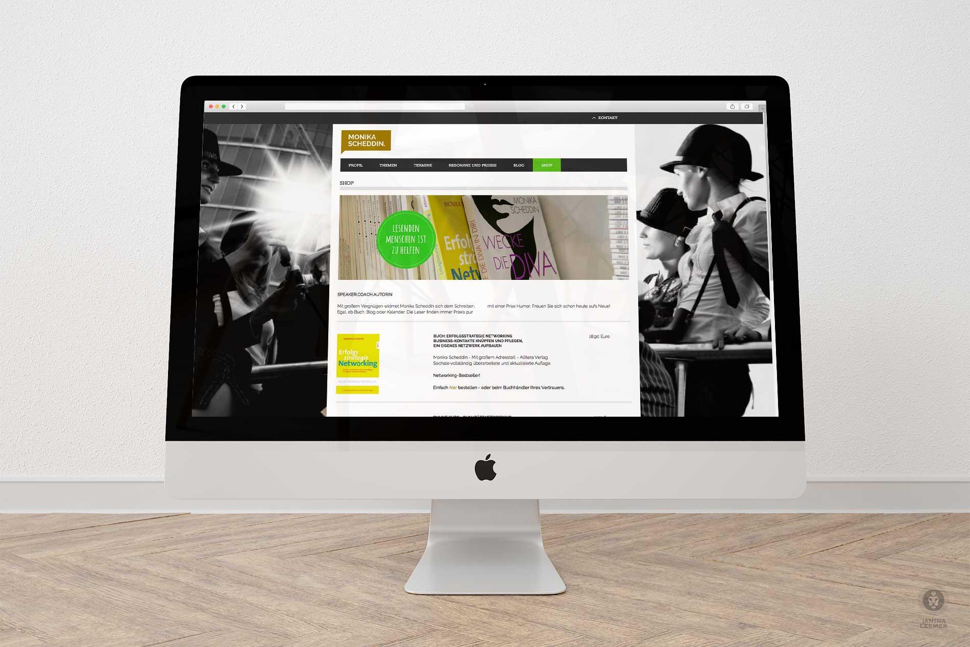 Janina-Lermer-Webseitengestaltung-Webdesign-Shop-Coach-Monika-Scheddin