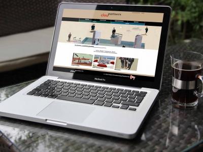 Janina-Lermer-Webseitenkonzept-Webseitengestaltung-Webdesign-ClouPartners-Home