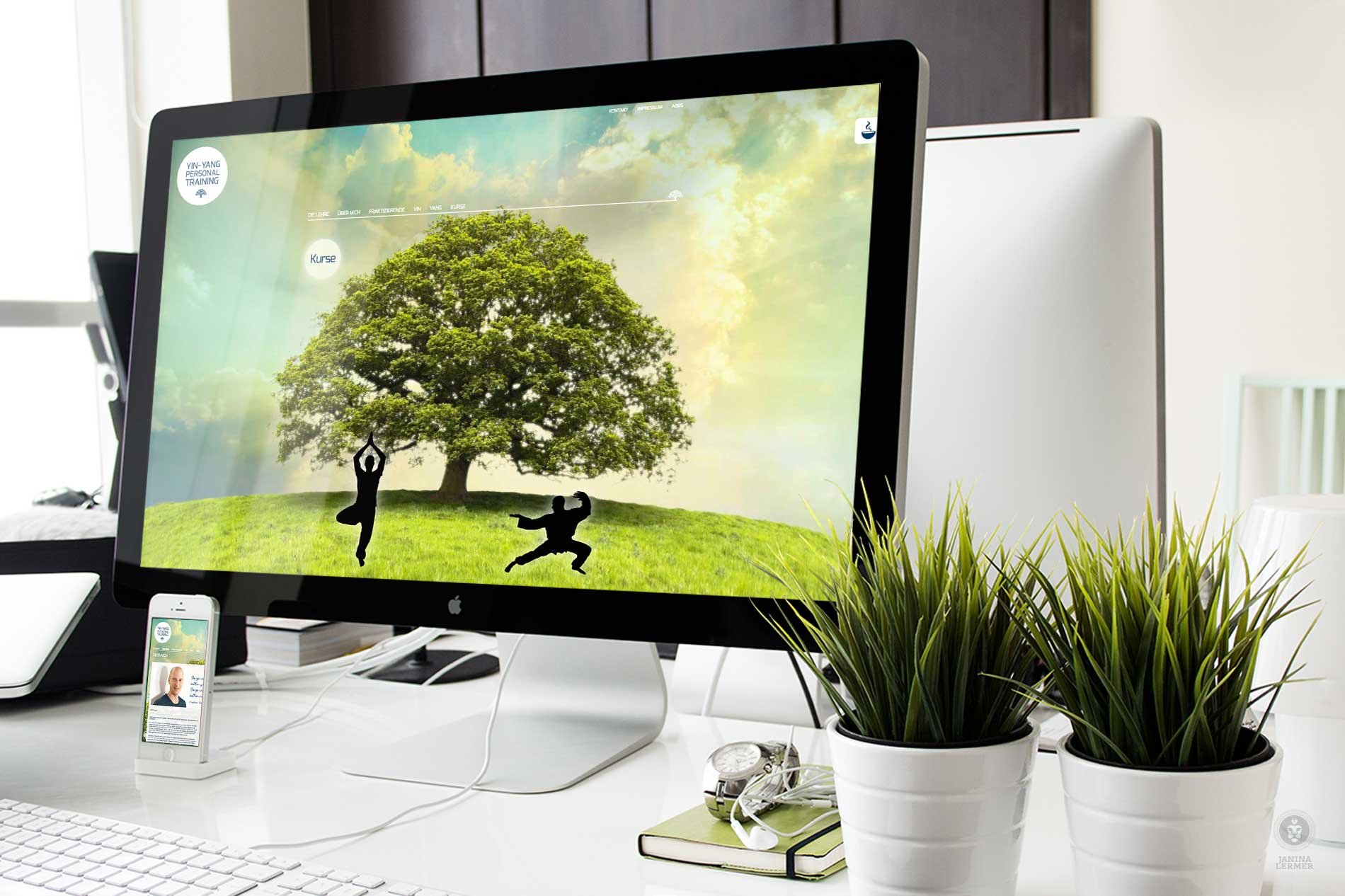 Webseitenkonzept-Webseitengestaltung-Webdesign-Yin-Yang-PersonalTrainer-Ulrich-Lampert-Home-Fruehling
