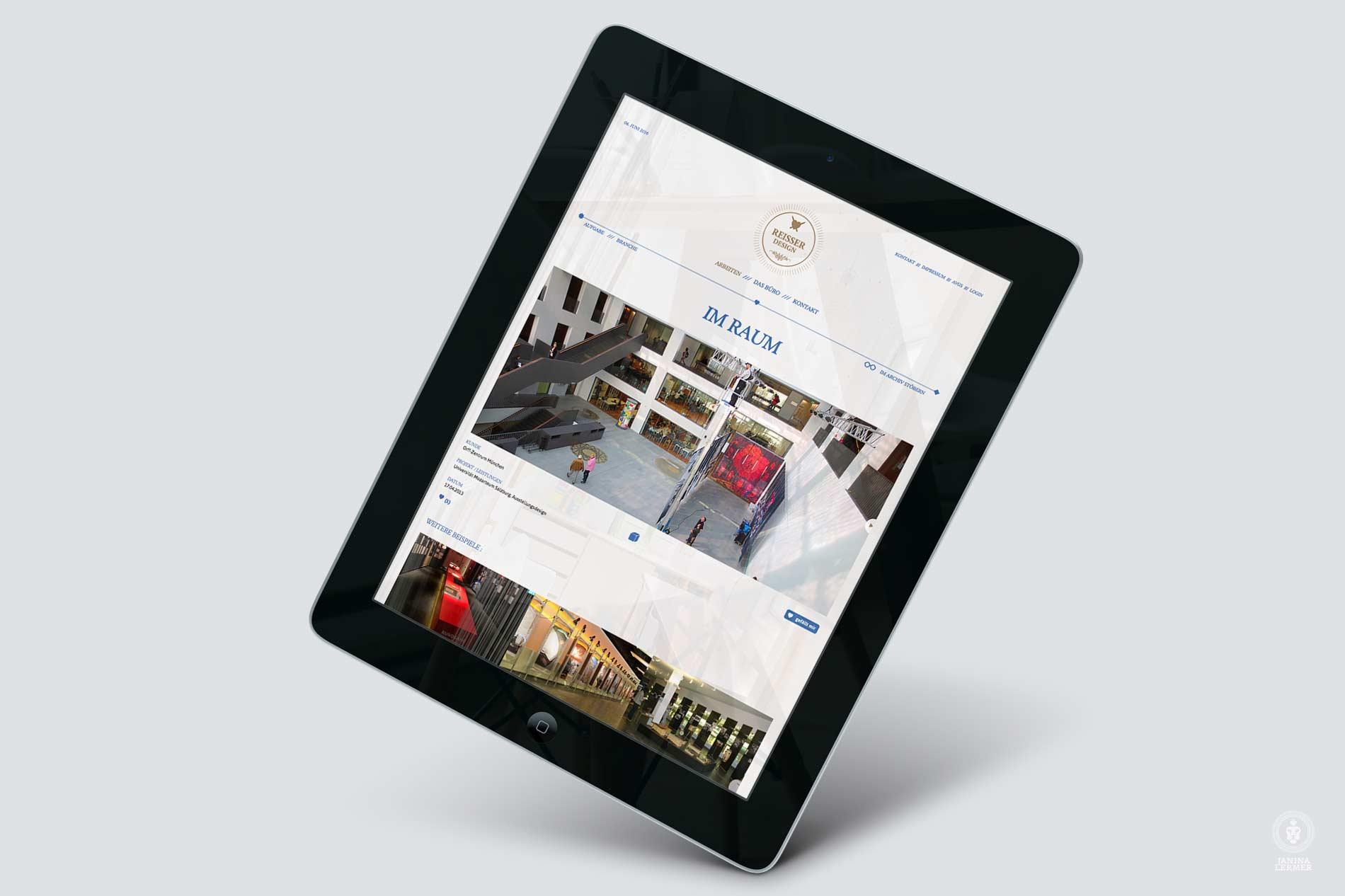 Janina-Lermer-Webseitenkonzept-Webseitengestaltung-Webdesign-Reisserdesign-Ipad-Projekte-imRaum-project-inRoom